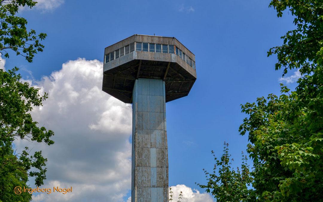 Der Bayernturm in Unterfranken