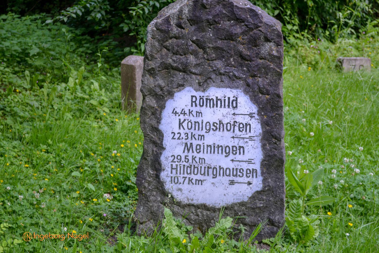 Bad Königshofen i. Grabfeld Grenzsteingarten