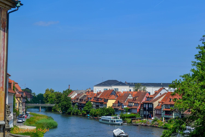 Bamberg Blick auf Fischerviertel