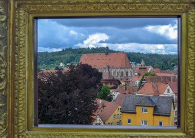 Blick auf das Hl. Kreuz Münster Schwäbisch Gmünd