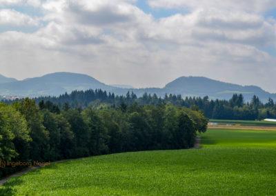 Blick auf den Stuifen und Hohenrechberg