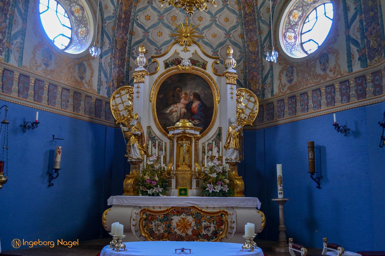 Kirche Zur hl. Familie in Oberau bei Berchtesgaden