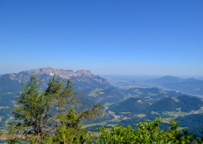 Kehlsteinhaus, Blick nach Österreich