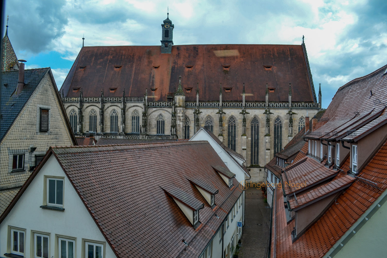 Blick aufs Hl.Kreuz Münster Schwäbisch Gmünd