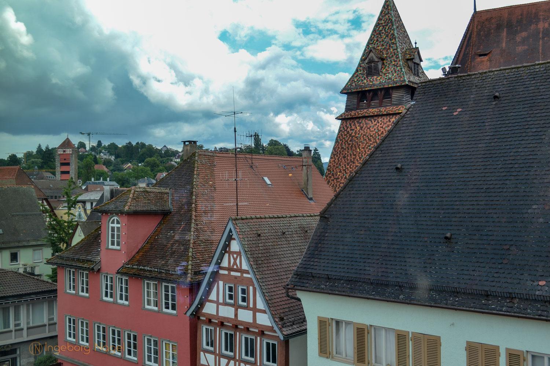 Blick auf Königsturm Schwäbisch Gmünd
