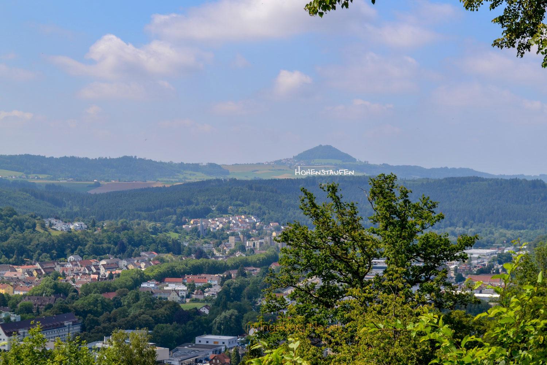 Blick vom Lindenturm Schwäbisch Gmünd