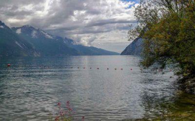 Nach einer atemberaubenden Fahrt – wir sind wieder in Riva del Garda