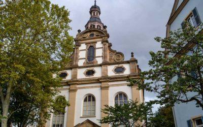 Die Dreifaltigkeitskirche in Speyer