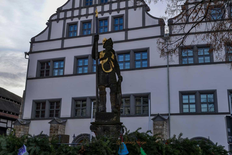 Residenz und Marktbrunnen Naumburg/Saale