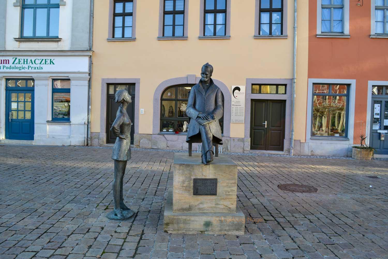 Nietzsche Denkmal Naumburg/Saale