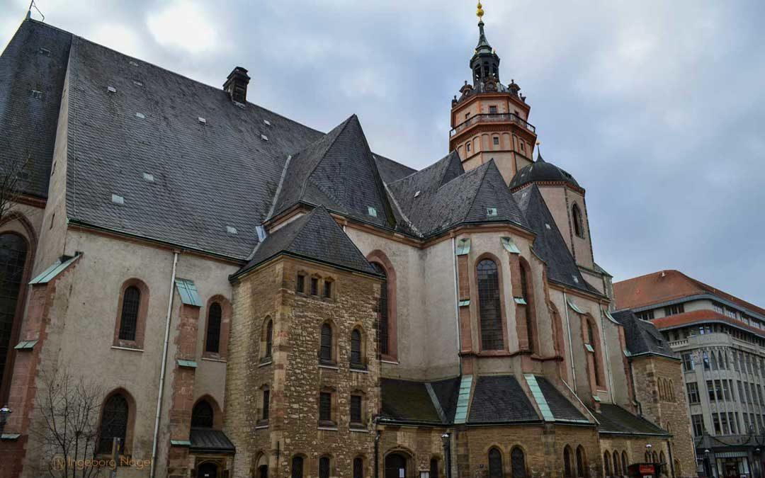 Die Nikolaikirche in Leipzig