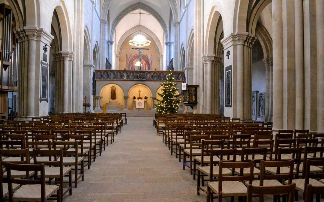 Im Naumburger Dom – das Langhaus und die Kapellen