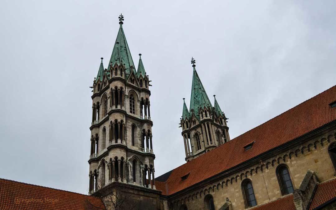 Im Naumburger Dom – Westchor, Westlettner und die Stifterfiguren