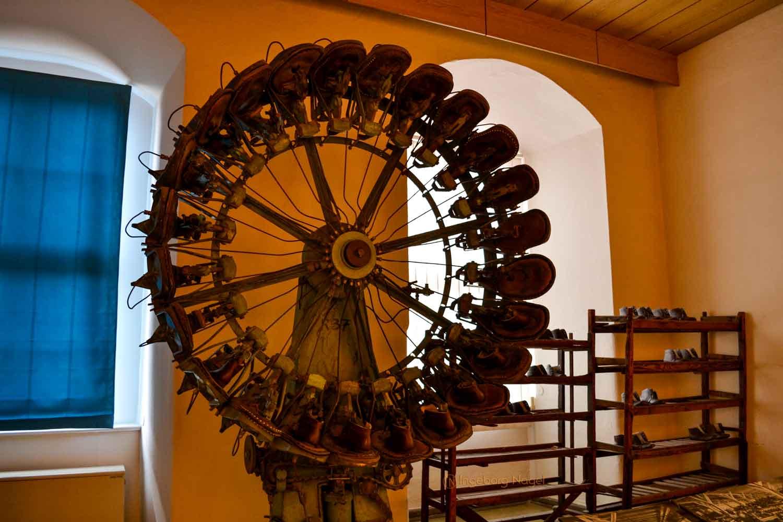 Schuhmuseum Schloss Neu-Augustusburg in Weißenfels