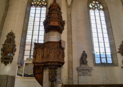Kanzel Kaiserdom in Merseburg