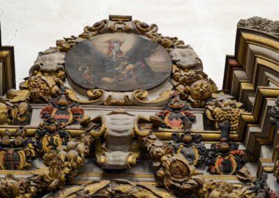 Portal zur barocken Fürstengruft Kaiserdom in Merseburg