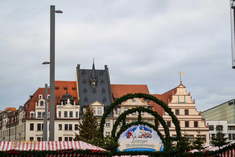 Markt in Leipzig