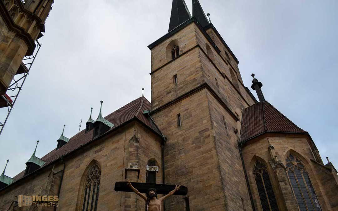 Die Kirche St. Severi in Erfurt