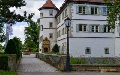 Das Wasserschloss in Bad Rappenau
