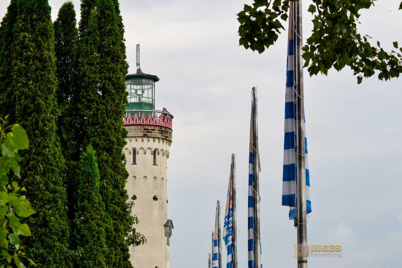 Neuer Leuchtturm Lindau am Bodensee