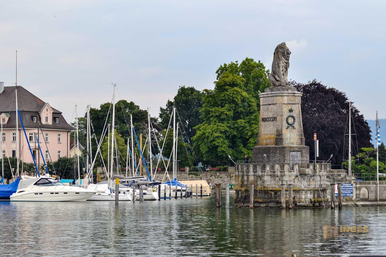 Hafen in Lindau am Bodensee