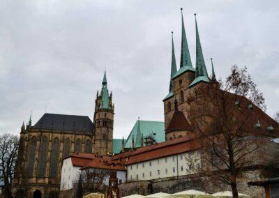 Erfurter Dom und Kirche St. Severi