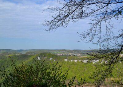 Ausblick von Schloss Lichtenstein