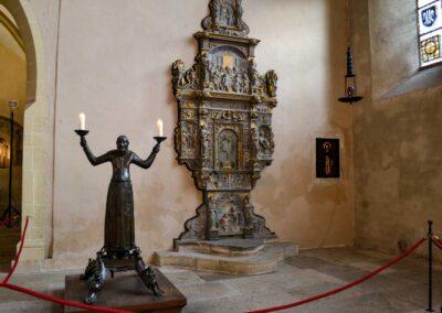 Wolframsleuchter und Sakramentshaus Erfurter Dom