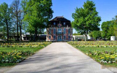 Im Stadtgarten von Schwäbisch Gmünd