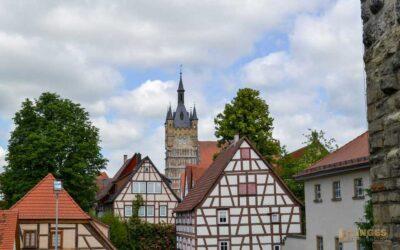 In der historischen Altstadt von Bad Wimpfen