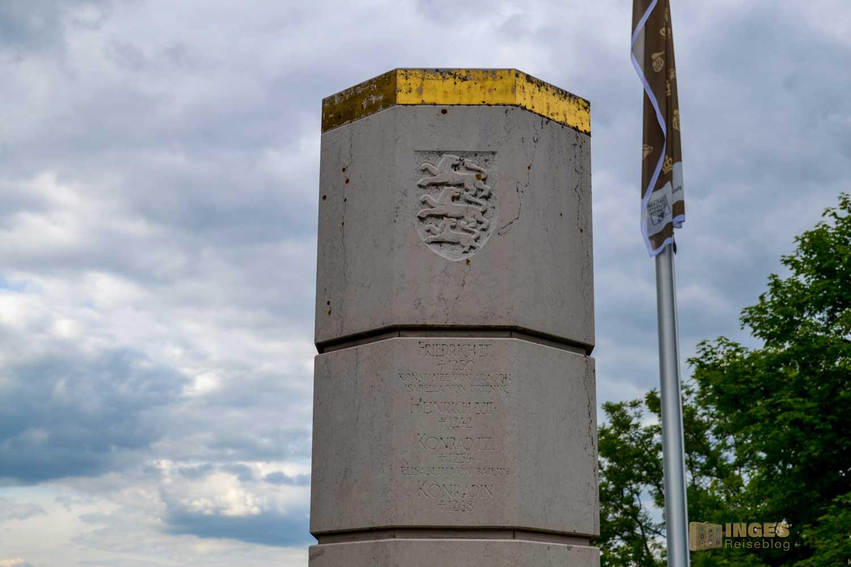 Stauferstele Burg Hohenstaufen