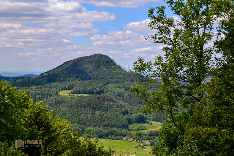 Blick vom Hornberg auf den Stuifen