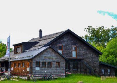 Franz-Keller Haus auf dem Kalten Feld bei Schwäbisch Gmünd