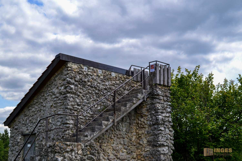 Villa Maus auf dem Kalten Feld bei Schwäbisch Gmünd