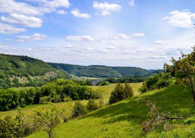 Blick vom Kalten Feld bei Schwäbisch Gmünd