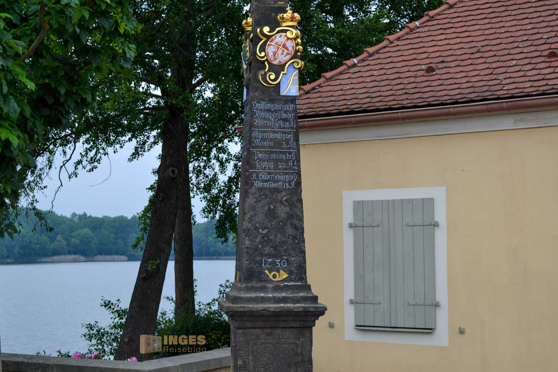 Postkutschenstation bei Schloss Moritzburg