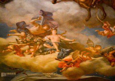 Schlafgemach im Residenzschloss in Dresden