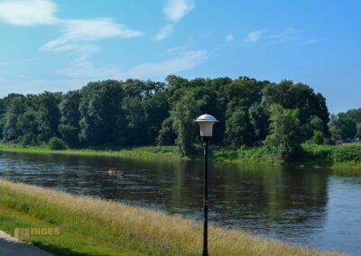 Elbe bei Schloss Pillnitz