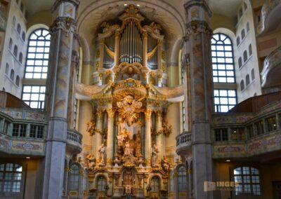Altar in der Frauenkirche in Dresden