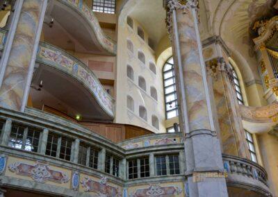 Die Emporen in der Dresdner Frauenkirche