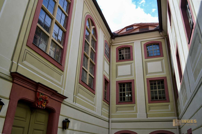 Kirchhof Schloss Weesenstein