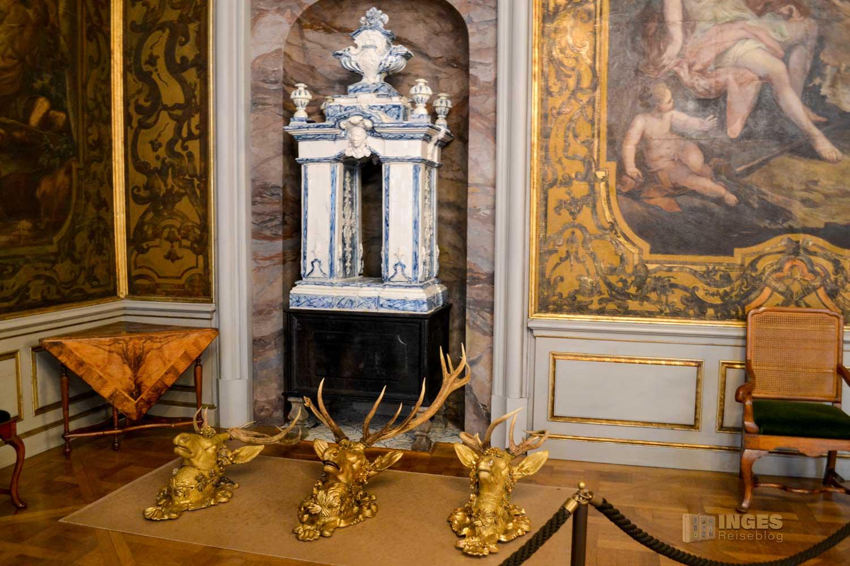 Monströsensaal auf Schloss Moritzburg