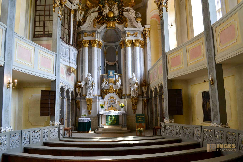 Schlosskapelle Schloss Weesenstein