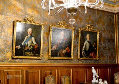 Augustzimmer auf Schloss Moritzburg