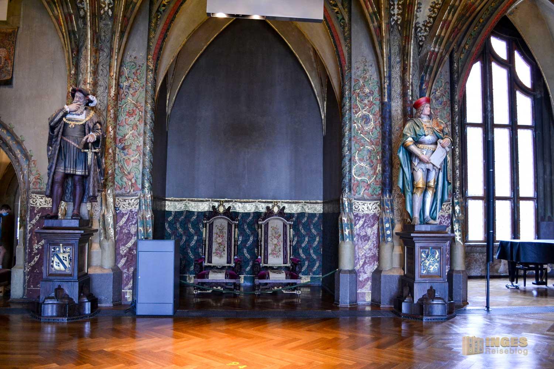 Große Hofstube Albrechtsburg in Meißen