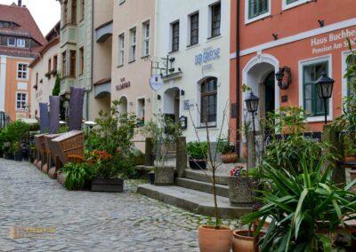 Schloßstrasse in Bautzen