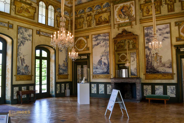 Kunstgewerbemuseum im Bergpalais Schloss Pillnitz