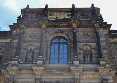 Sempergalerie im Zwinger in Dresden