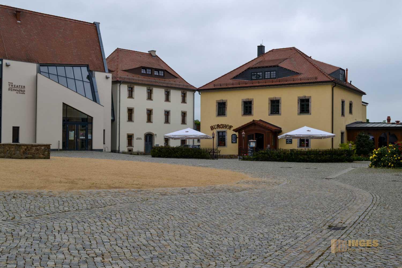 Burghof in Bautzen