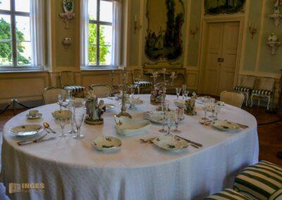 Der Watteau-Saal im Schloss Pillnitz